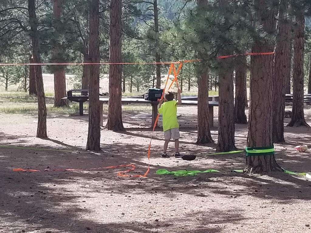 Pike Community Group Campground - campground    Photo 6 of 10   Address: CO-67, Woodland Park, CO 80863, USA   Phone: (719) 636-1602