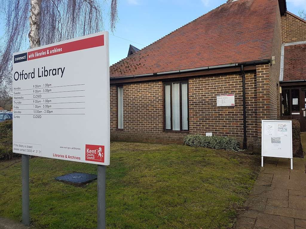 Otford Library - library  | Photo 1 of 1 | Address: High St, Otford, Sevenoaks TN14 5TL, UK | Phone: 01959 522488
