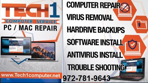 Tech1 Computer Service & Cell Phone Repair - electronics store  | Photo 5 of 6 | Address: 2380 E Park Blvd #409, Plano, TX 75074, USA | Phone: (972) 781-9643