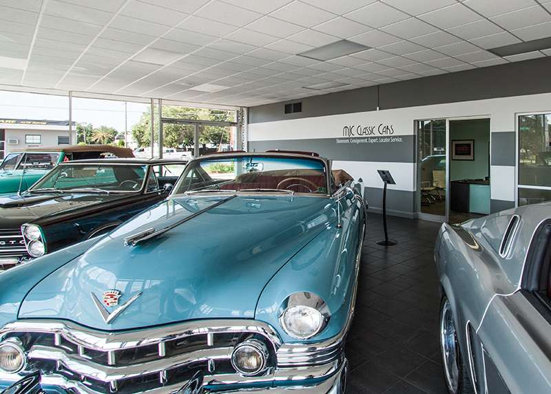 MJC Classic Cars - car dealer    Photo 2 of 10   Address: 355 S Lake Parker Ave, Lakeland, FL 33801, USA   Phone: (863) 944-8615
