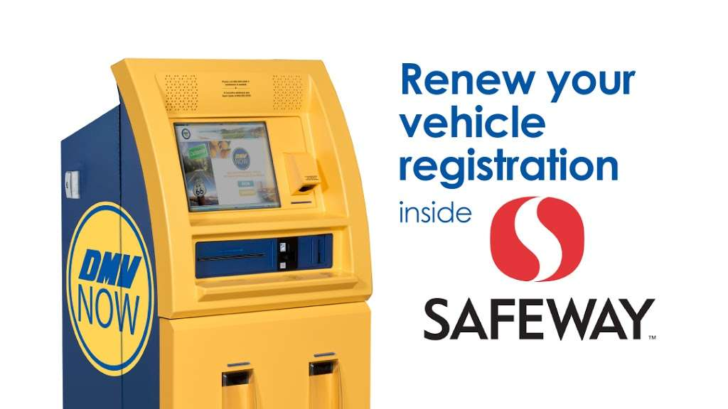 California DMV Now Kiosk - Local government office   2255