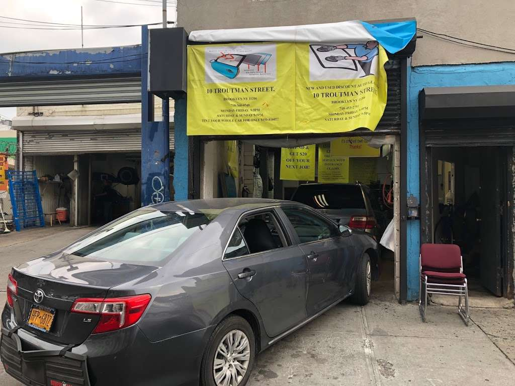 New And Used Auto Discount Glass Shop LTD - car repair  | Photo 2 of 10 | Address: 10 Troutman St, Brooklyn, NY 11206, USA | Phone: (347) 382-9915