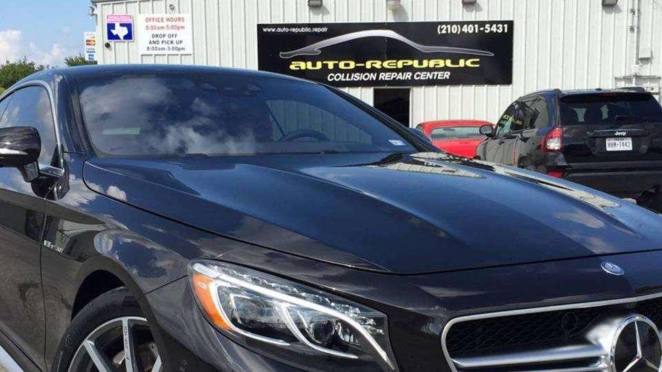 Auto-Republic Collision Repair Center - car repair  | Photo 2 of 10 | Address: 6545 Walzem Rd, San Antonio, TX 78239, USA | Phone: (210) 401-5431