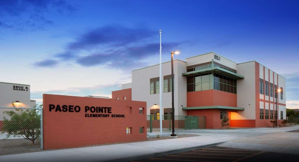 Paseo Pointe Elementary School - school    Photo 1 of 5   Address: 8800 S 55th Ave, Laveen Village, AZ 85339, USA   Phone: (602) 304-2040