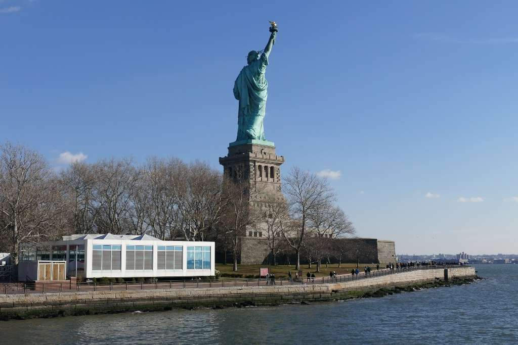 Liberty Island Sculpture Garden - park  | Photo 1 of 10 | Address: Battery Pl, New York, NY 10004, USA | Phone: (201) 604-2800