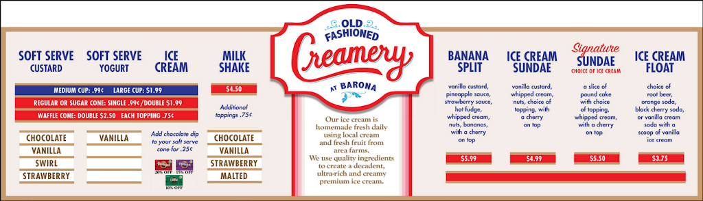 Old Fashioned Creamery at Barona - restaurant  | Photo 4 of 6 | Address: 1932 Wildcat Canyon Rd, Lakeside, CA 92040, USA | Phone: (619) 443-2300