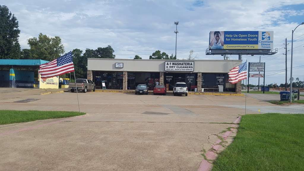 A-1 Washateria and dry cleaners - laundry  | Photo 7 of 10 | Address: 28106 Heidi Ln, Tomball, TX 77375, USA | Phone: (281) 357-0678