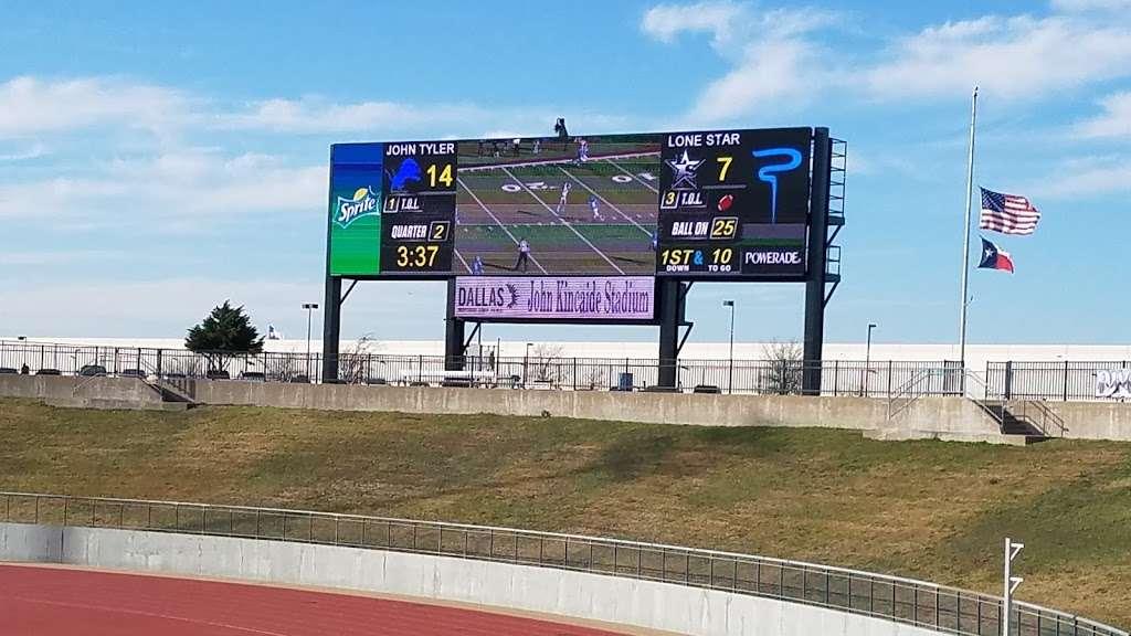John Kincaide Stadium - stadium  | Photo 4 of 10 | Address: 9100 S Polk St, Dallas, TX 75232, USA | Phone: (855) 452-2828