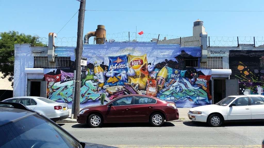 The Bushwick Collective - art gallery  | Photo 1 of 10 | Address: St Nicholas Ave, Brooklyn, NY 11237, USA