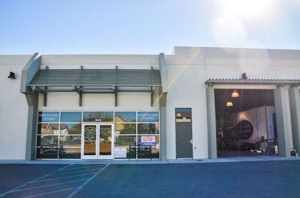 New Look Collision Center - car repair  | Photo 2 of 10 | Address: 5845 W Shelbourne Ave, Las Vegas, NV 89139, USA | Phone: (702) 269-1650