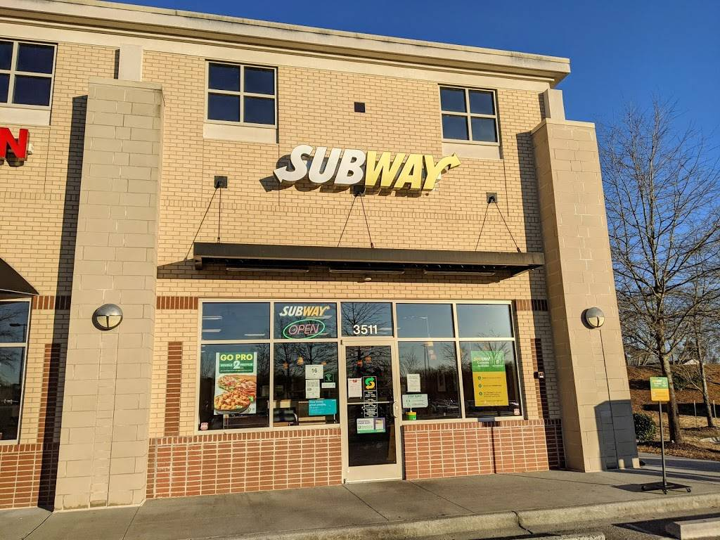 Subway - meal takeaway  | Photo 1 of 8 | Address: 3511 Pkwy Village Cir, Winston-Salem, NC 27127, USA | Phone: (336) 771-5927