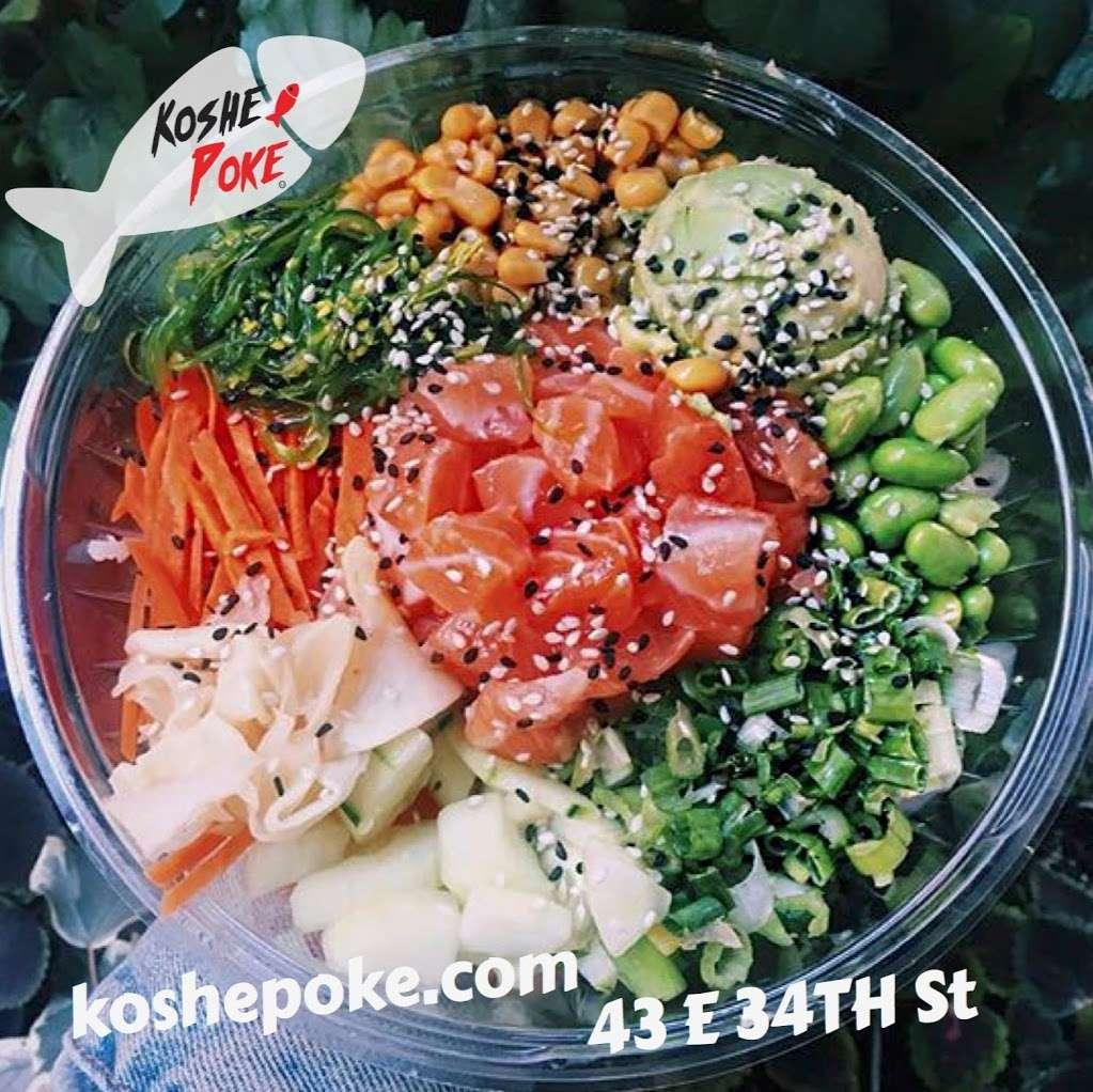 Koshe Poke - restaurant  | Photo 9 of 10 | Address: 43 E 34th St, New York, NY 10016, USA | Phone: (212) 725-3179