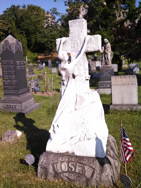 Historic Jersey City and Harsimus Cemetery - cemetery  | Photo 2 of 9 | Address: 435 Newark Ave, Jersey City, NJ 07302, USA | Phone: (201) 707-0738