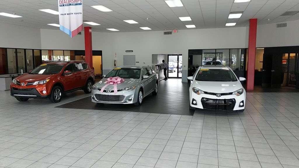 Palm Beach Toyota - car dealer  | Photo 9 of 10 | Address: 200 S Congress Ave, West Palm Beach, FL 33406, USA | Phone: (561) 701-9306