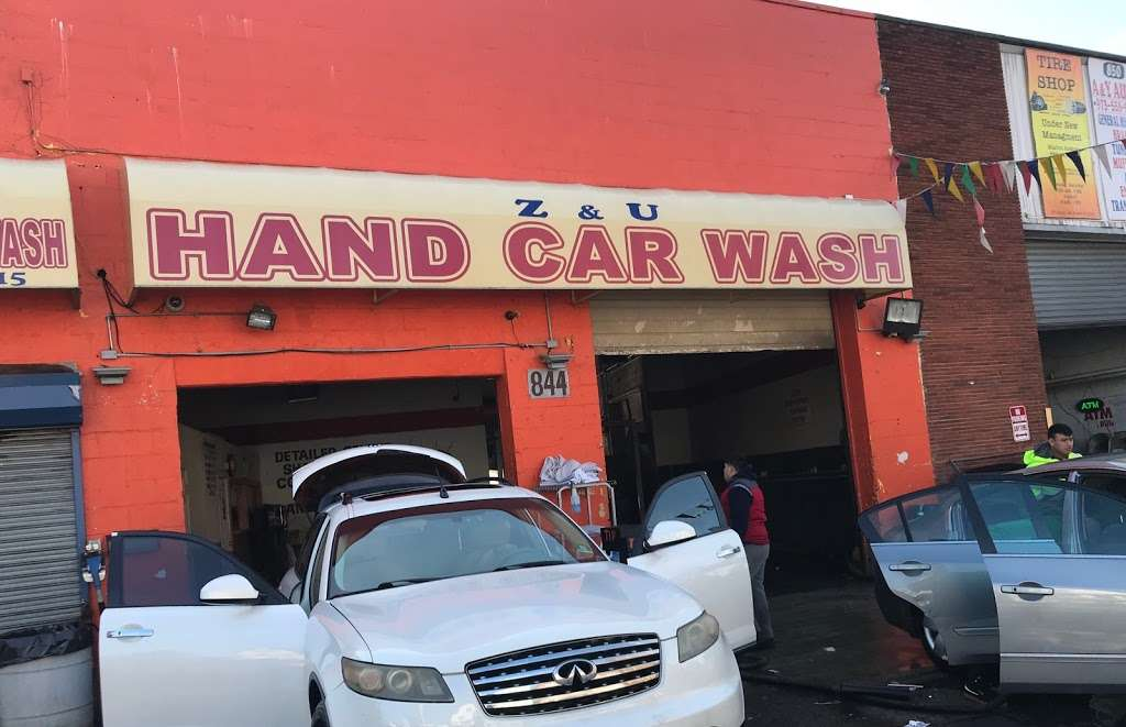 Z & U Hand Car Wash - car wash  | Photo 4 of 10 | Address: 844 Clinton Ave, Newark, NJ 07108, USA | Phone: (862) 240-1515