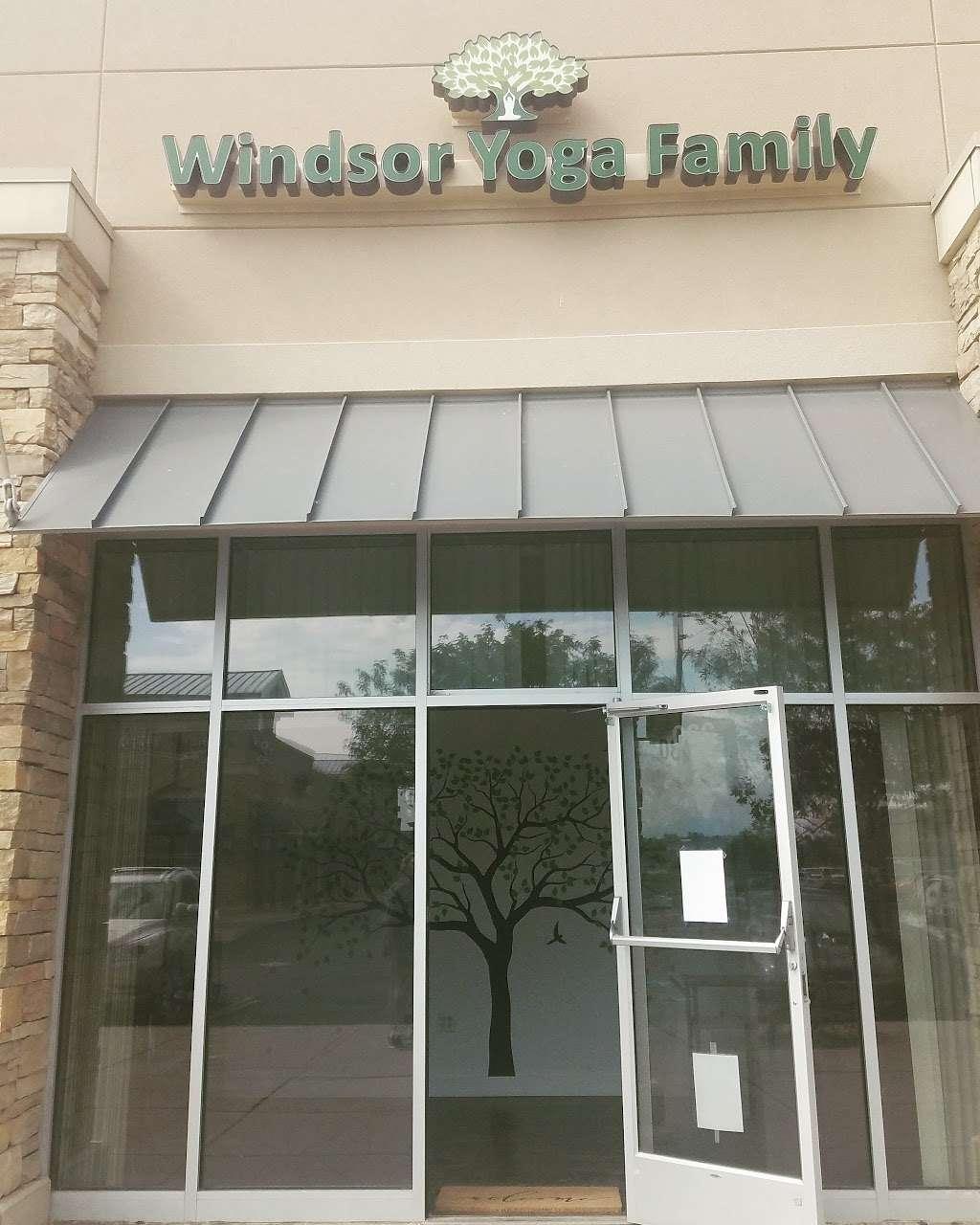 Windsor Yoga Family - gym  | Photo 8 of 9 | Address: 1520 Main St, Windsor, CO 80550, USA | Phone: (970) 481-7906