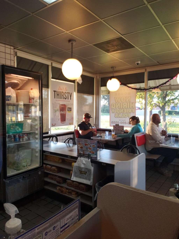 Waffle House - meal takeaway    Photo 10 of 10   Address: 1116 League Line Rd, Conroe, TX 77303, USA   Phone: (936) 890-0555