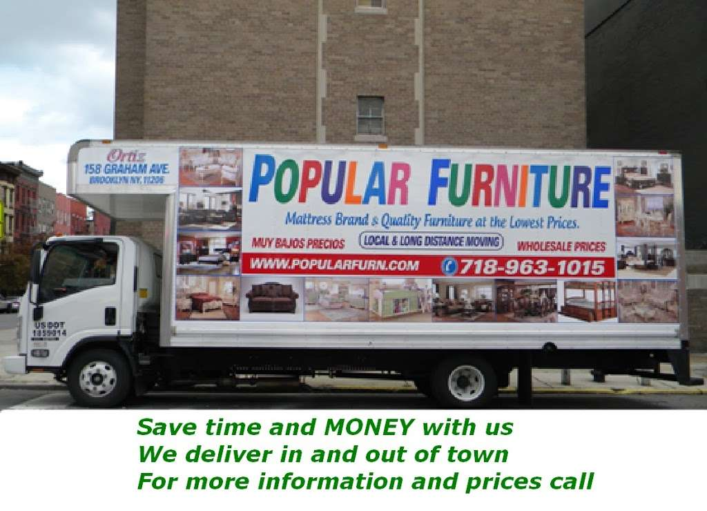 Popular Furniture Inc - furniture store  | Photo 7 of 7 | Address: 158 Graham Ave, Brooklyn, NY 11206, USA | Phone: (718) 963-1015