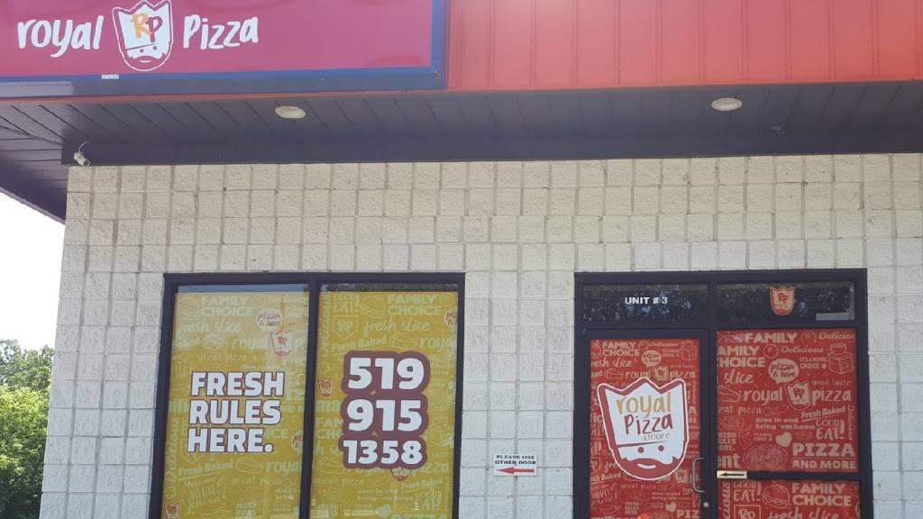 Royal pizza & more - restaurant  | Photo 3 of 10 | Address: 899 Grand Marais Rd E unit 3, Windsor, ON N8X 3H9, Canada | Phone: (519) 915-1358