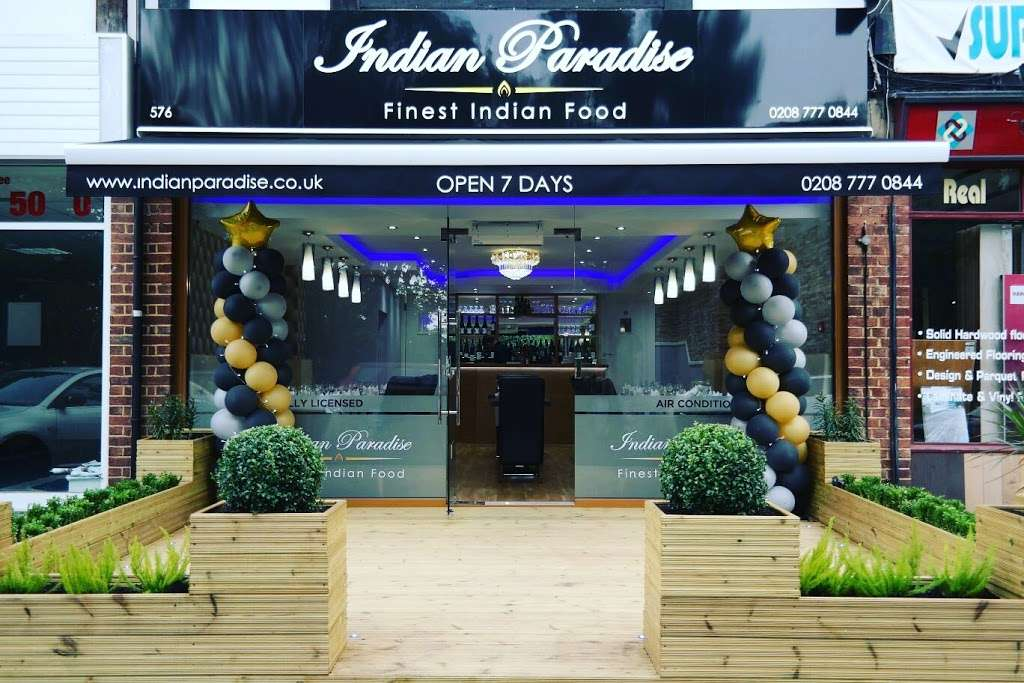 Indian Paradise - restaurant  | Photo 3 of 8 | Address: 576 Wickham Rd, Croydon CR0 8DN, UK | Phone: 020 8777 0844