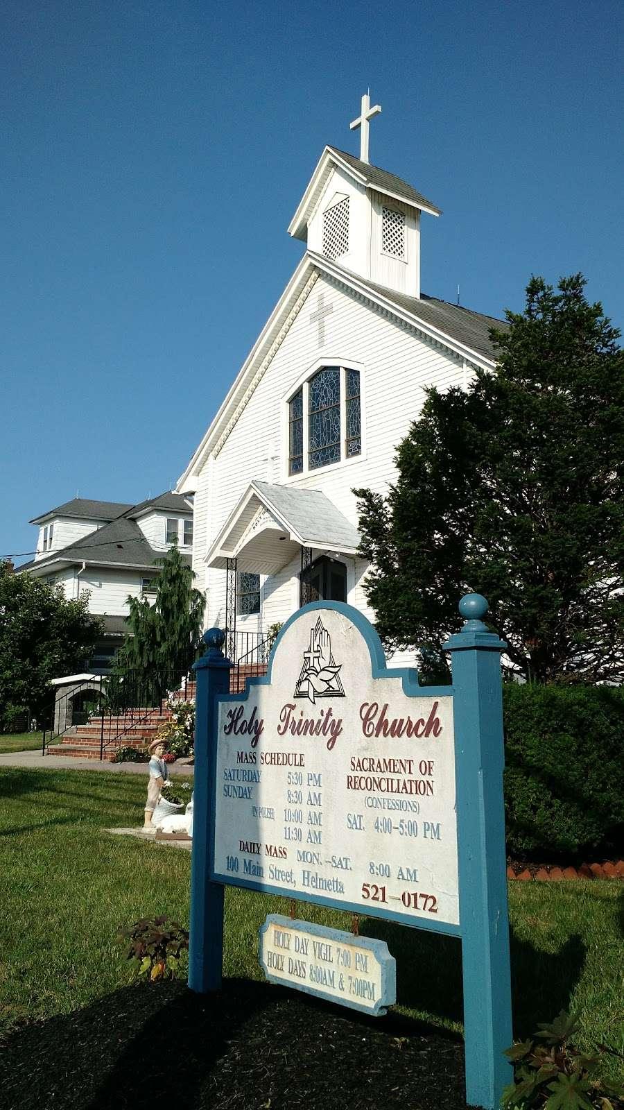 Holy Trinity Church - church  | Photo 5 of 6 | Address: 100 Main St, Helmetta, NJ 08828, USA | Phone: (732) 521-0172