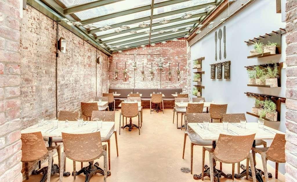 Barbalu - restaurant    Photo 2 of 10   Address: 225-227 Front St, New York, NY 10038, USA   Phone: (646) 918-6565