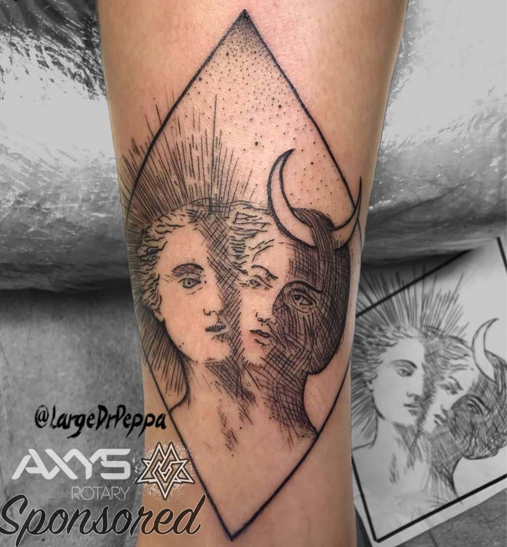 World Famous La Mancha Tattooz - art gallery  | Photo 8 of 10 | Address: 9621 Campo Rd #E, Spring Valley, CA 91977, USA | Phone: (619) 265-7426