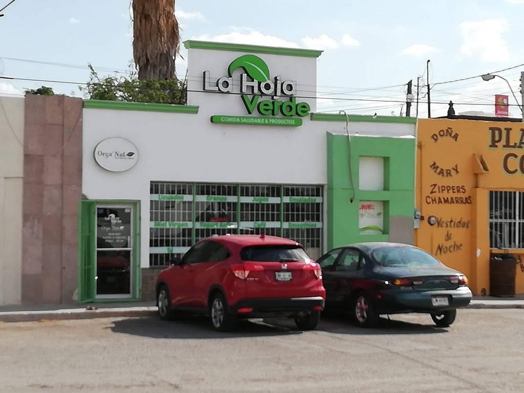 La Hoja Verde Jrz - restaurant    Photo 4 of 10   Address: Valle de Juárez 7006, San Lorenzo, 32439 Cd Juárez, Chih., Mexico   Phone: 656 741 8565