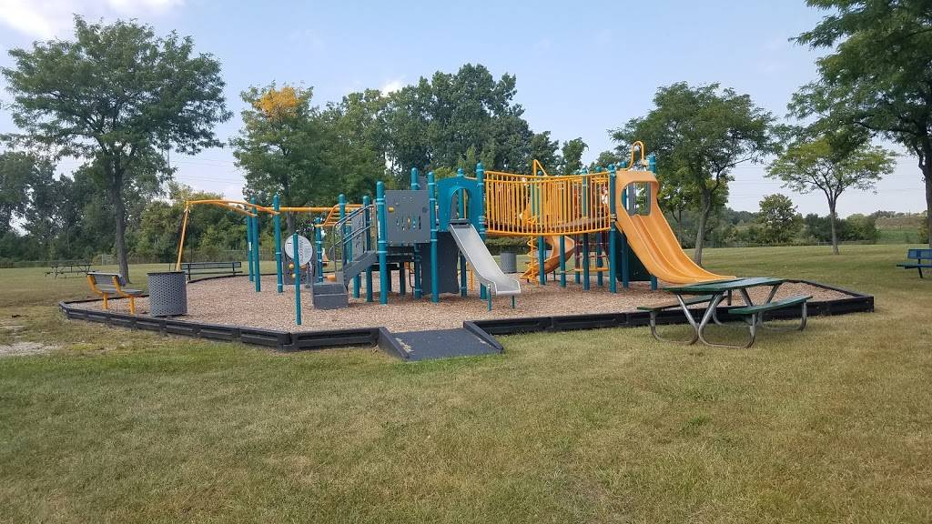 Mark Sawyers Family Park - park  | Photo 5 of 9 | Address: 14655 Carmel Dr, Sterling Heights, MI 48312, USA | Phone: (586) 446-2700