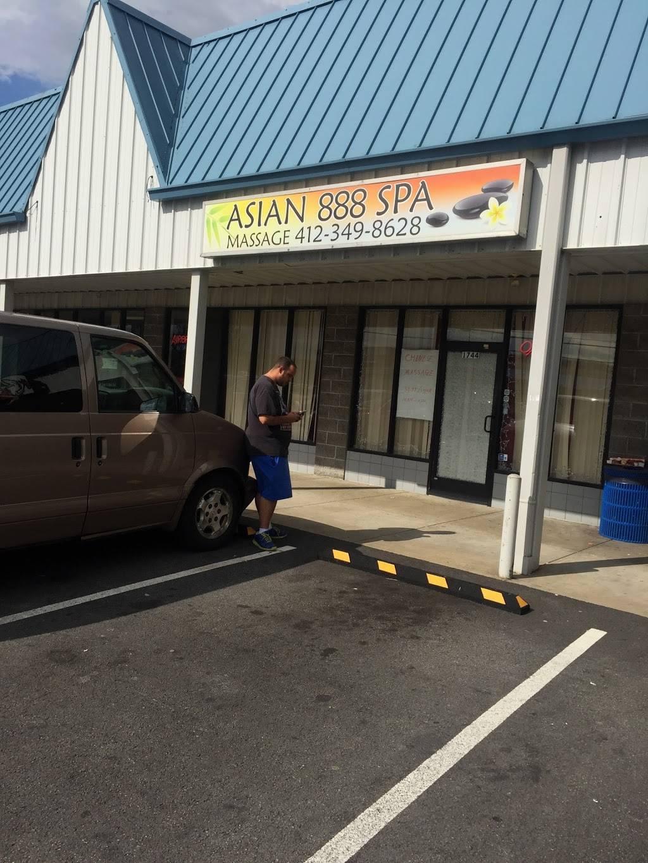 Asian 888 Spa - physiotherapist  | Photo 2 of 2 | Address: 1744 Greensburg Pike, North Versailles, PA 15137, USA | Phone: (412) 349-8628