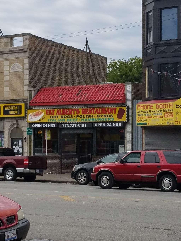 Fat Albert - restaurant    Photo 3 of 10   Address: 6854 S Ashland Ave, Chicago, IL 60636, USA   Phone: (773) 737-6161