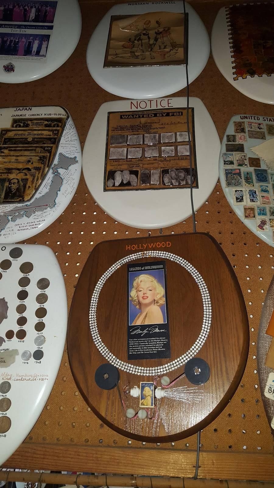Barney Smiths Toilet Seat Art Museum - museum    Photo 6 of 9   Address: 239 Abiso Ave, San Antonio, TX 78209, USA   Phone: (210) 824-7791