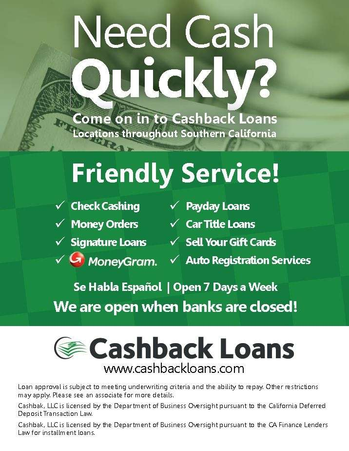 Cashback Loans - local government office  | Photo 5 of 7 | Address: 25715 Redlands Blvd b, Redlands, CA 92373, USA | Phone: (909) 557-1199
