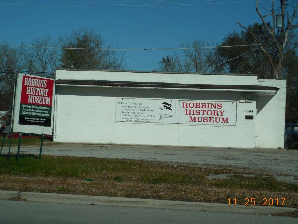 Robbins Illinois History Museum - museum    Photo 2 of 4   Address: 3644 139th St, Robbins, IL 60472, USA   Phone: (708) 359-8701