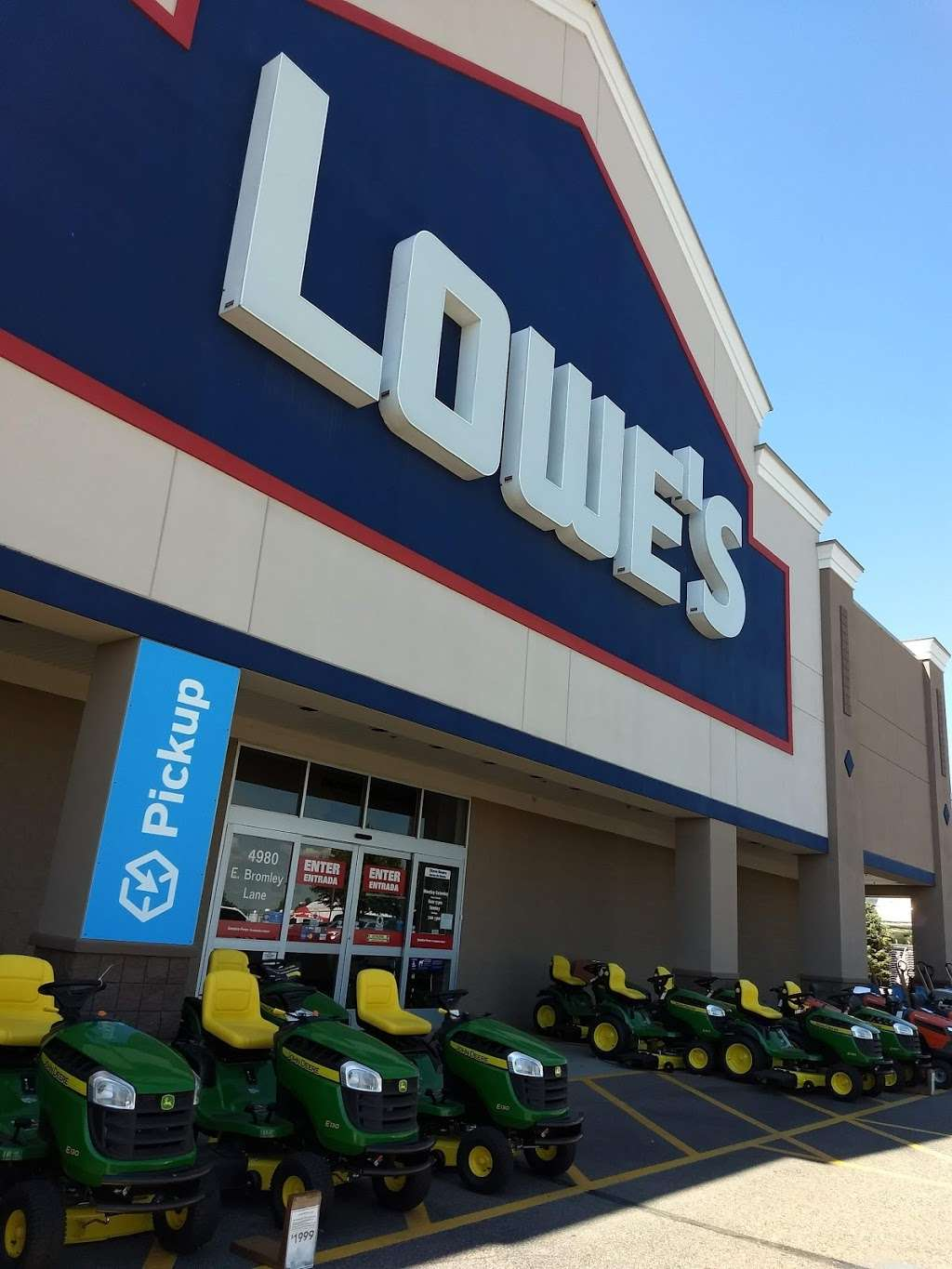 Lowes Home Improvement - hardware store    Photo 5 of 10   Address: 4980 E Bromley Ln, Brighton, CO 80601, USA   Phone: (303) 498-5000