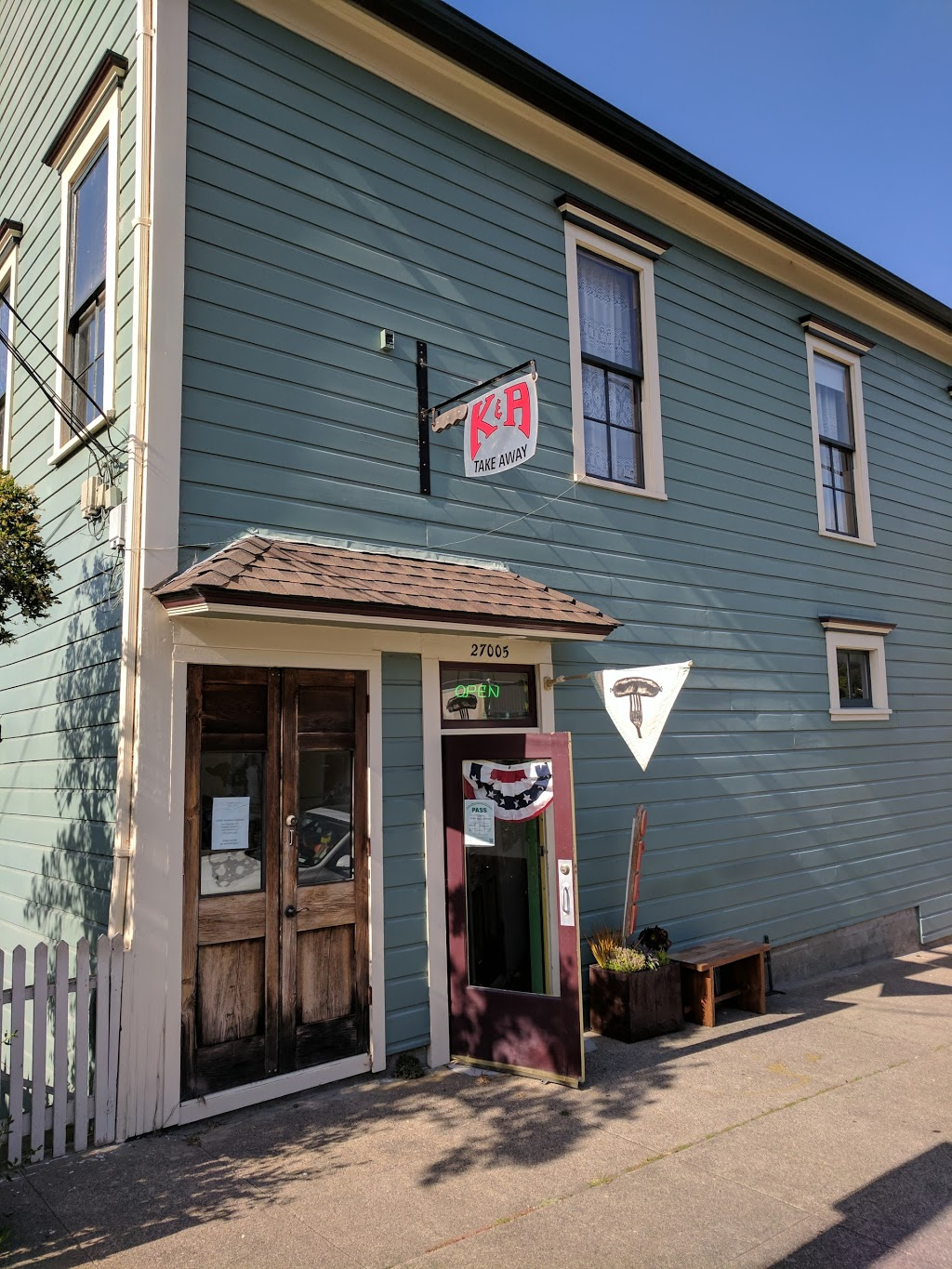 K&A Take Away - meal takeaway  | Photo 2 of 9 | Address: 13 Dilon Beach Road, Tomales, CA 94971, USA | Phone: (707) 878-2969