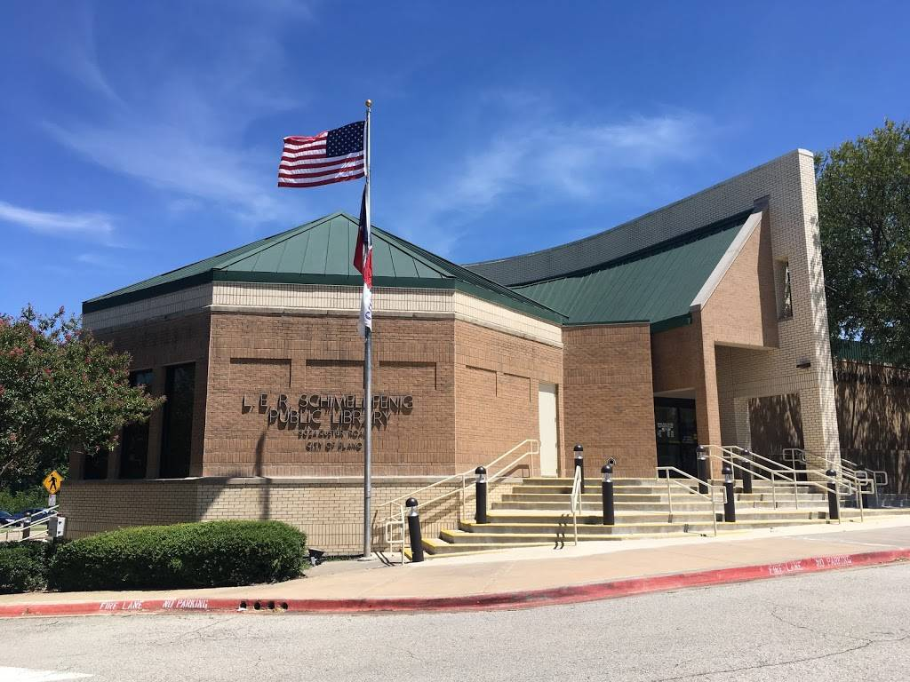 Schimelpfenig Library - library    Photo 2 of 9   Address: 5024 Custer Rd, Plano, TX 75023, USA   Phone: (972) 769-4200