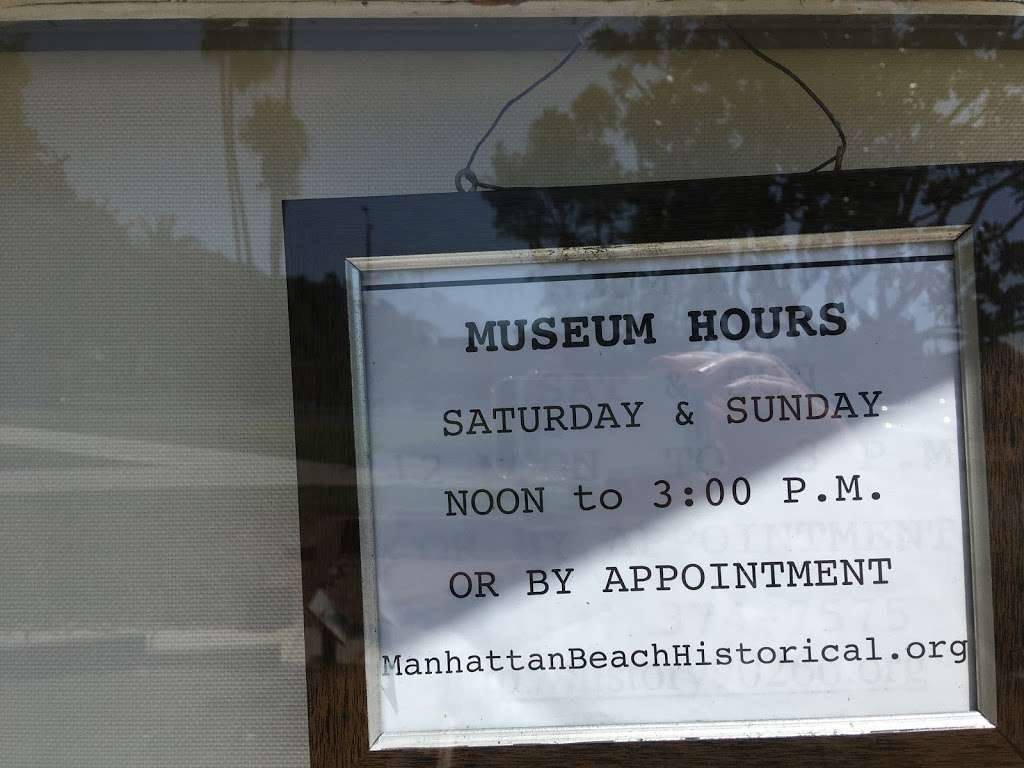 Manhattan Beach Historical Society - museum  | Photo 6 of 8 | Address: 1601 Manhattan Beach Blvd, Manhattan Beach, CA 90266, USA | Phone: (310) 374-7575