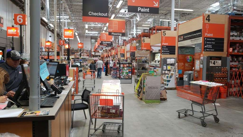 The Home Depot - hardware store  | Photo 8 of 10 | Address: 1055 Paterson Plank Rd, Secaucus, NJ 07094, USA | Phone: (201) 271-1200