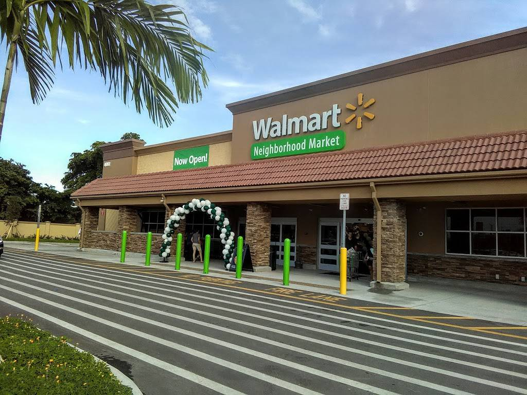 Walmart Neighborhood Market - supermarket  | Photo 1 of 8 | Address: 8550 Stirling Rd, Hollywood, FL 33024, USA | Phone: (954) 628-1772