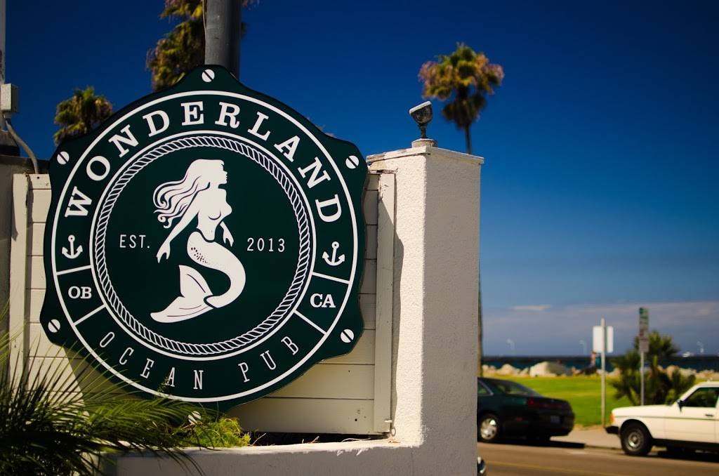 Wonderland Ocean Pub - restaurant  | Photo 4 of 7 | Address: 5083 Santa Monica Ave, San Diego, CA 92107, USA | Phone: (619) 255-3358