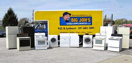 Big Jons Used Appliances - home goods store    Photo 6 of 9   Address: 2678 E Main St, Plainfield, IN 46168, USA   Phone: (317) 268-6880