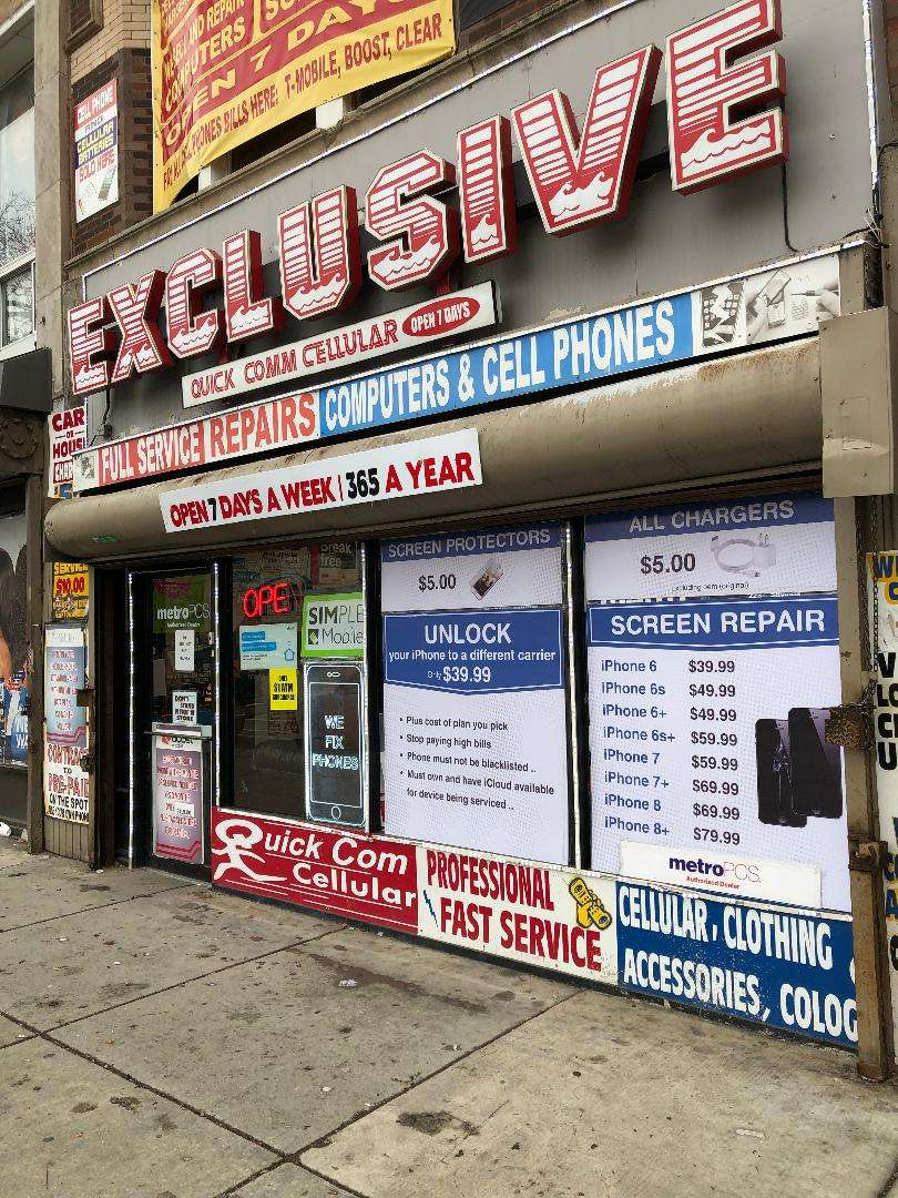 exclusive quickcom phones and repairs - store  | Photo 4 of 6 | Address: 4117 W Madison St, Chicago, IL 60624, USA | Phone: (773) 533-3200