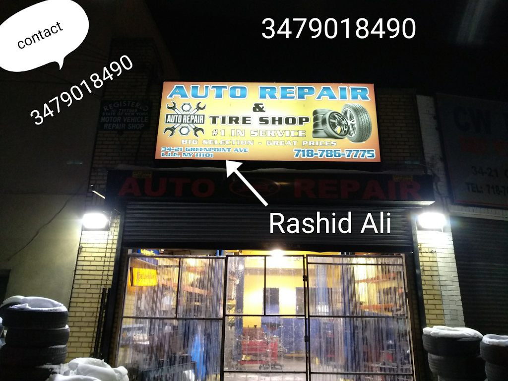 Automobile & Tyre repair shop - car repair  | Photo 1 of 2 | Address: 3421 Greenpoint Ave, Long Island City, NY 11101, USA | Phone: (347) 901-8490