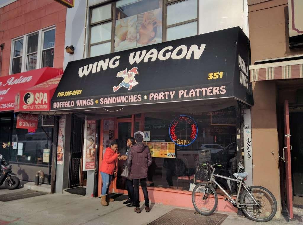 Wing Wagon - restaurant  | Photo 6 of 7 | Address: 351 Flatbush Ave, Brooklyn, NY 11238, USA | Phone: (718) 398-0501