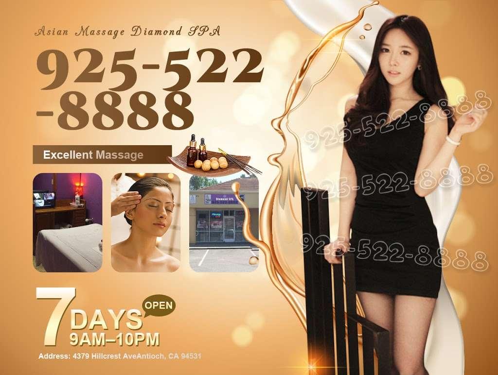 Asian Massage Antioch | Diamond SPA - spa  | Photo 8 of 10 | Address: 4379 Hillcrest Ave, Antioch, CA 94531, USA | Phone: (925) 522-8888