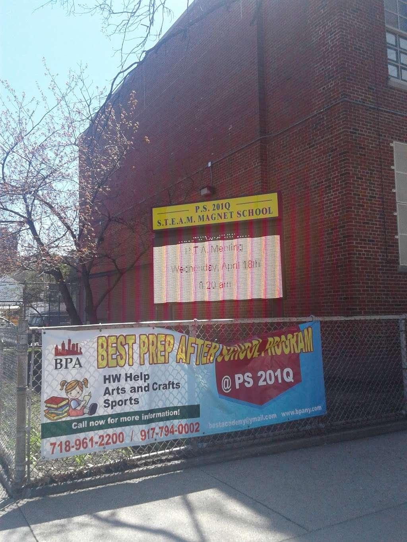 Public School 201 - school    Photo 3 of 5   Address: 65-11 155th St, Flushing, NY 11367, USA   Phone: (718) 359-0620