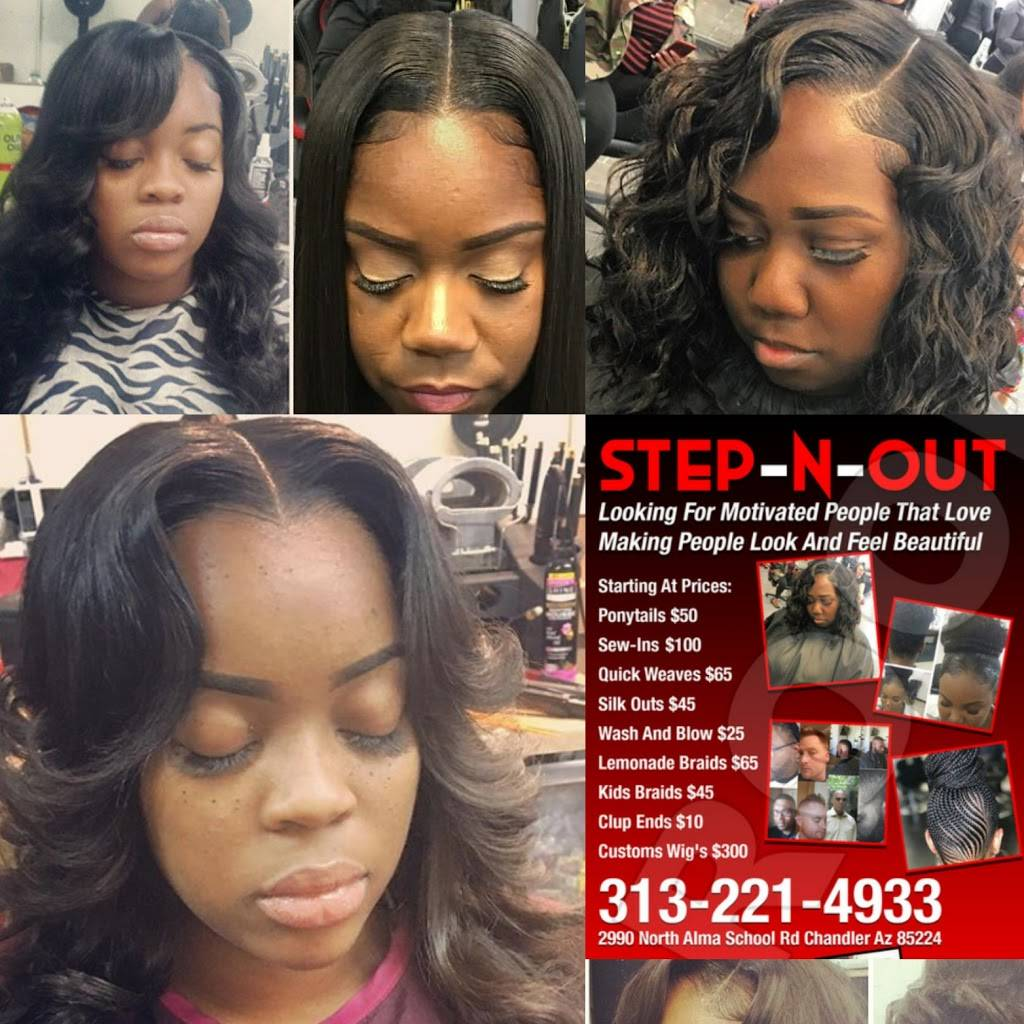 Step N Out Hair Salon and Clothing Boutique - hair care  | Photo 5 of 5 | Address: 2990 N Alma School Rd, Chandler, AZ 85224, USA | Phone: (313) 221-4933