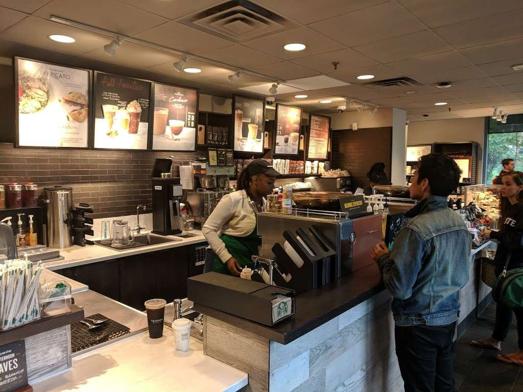Starbucks - cafe    Photo 1 of 10   Address: 455 Main St, New York, NY 10044, USA   Phone: (212) 371-1298