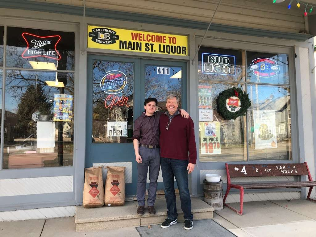 Main Street Liquor - store  | Photo 1 of 10 | Address: 411 Main St, Mukwonago, WI 53149, USA | Phone: (262) 363-8376